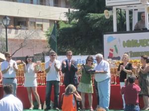 Minifútbol de Torrelodones 24-06-2012 El Mini recibe la Medalla de Torrelodones a la Participación Ciudadana
