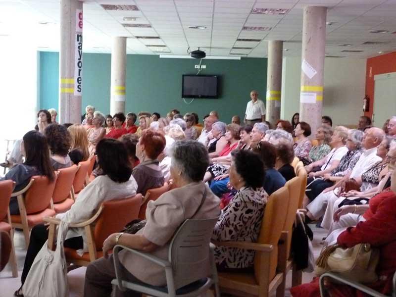 Clausura talleres para mayores de Torrelodones curso 2011-2012