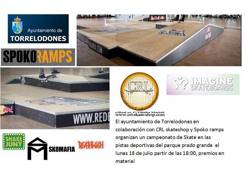 Campeonato Skate Torrelodones 16/07/2012