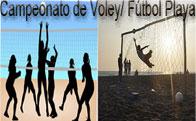 Campeonatos de Voley Playa y Fútbol Playa en Torrelodones