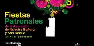 Programa de las Fiestas de la Asunción y San Roque, Torrelodones 2012