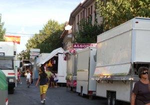 Puestos de Feria en las Fiestas de la Asunción y San Roque en Torrelodones