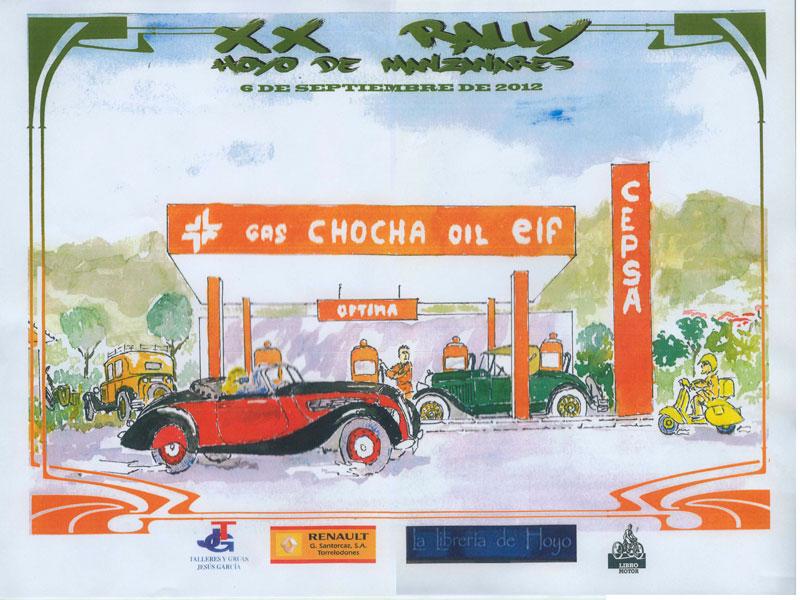 XX Rally de Coches de Época de Hoyo de Manzanares 2012