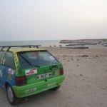 Rally Torrelodones-Mauritania - El coche donado por Julián de Castro