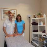 Alejandro y Verónica, fisioterapeutas de Torrelodones