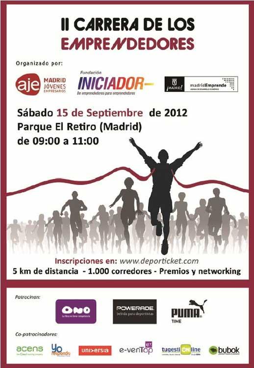 II Carrera de Emprendedores - Parque de El Retiro, Madrid.