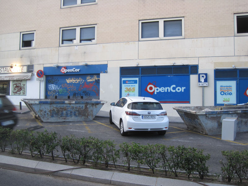 Nuevo Supercor Exprés en Torrelodones (pueblo)