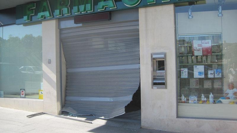 Robo en la Farmacia de la Colonia de Torrelodones - En la foto, Enrique Casado