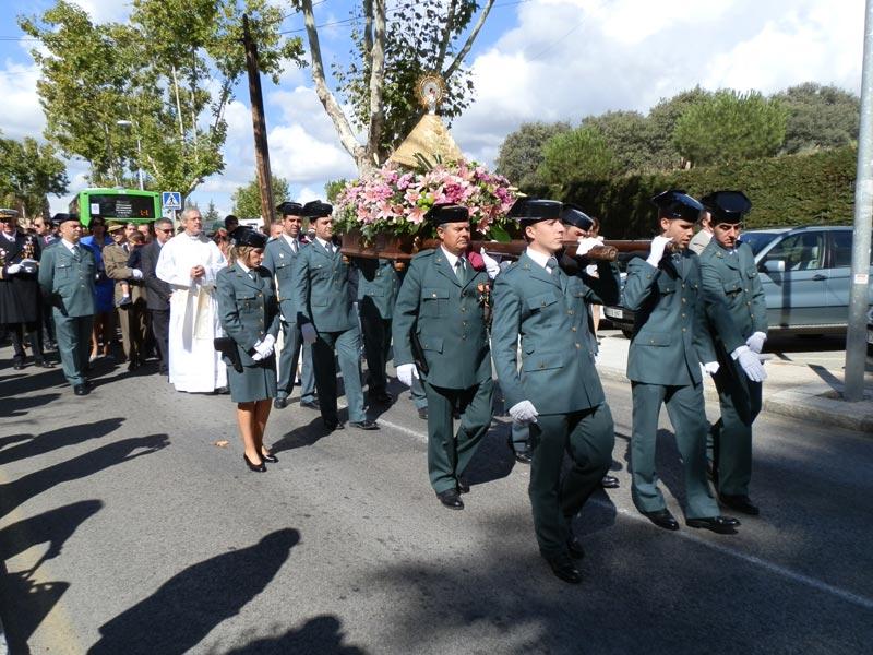 Procesión del Día del Pilar, Torrelodones 2012