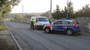 La Policía de Galapagar realiza controles en la zona del supuesto intento de secuestro