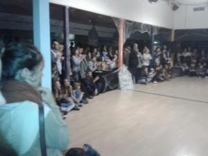 Disco Light y concurso de baile Trhiller en Torrelodones (26-10-2012)
