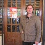 Bernar, propietario del restaurante Zeppelin de Torrelodones