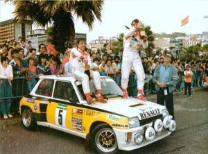 Antonio Boto y Carlos Sainz (1985)