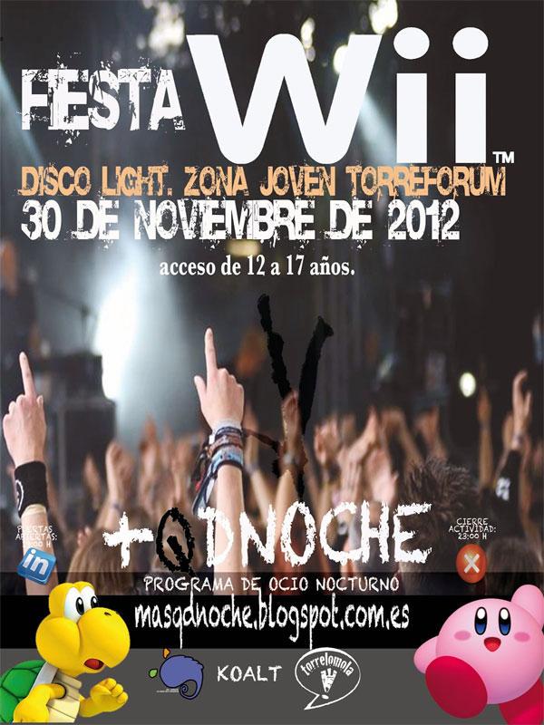 Fiesta Wii en Torreforum el 30 de noviembre 2012