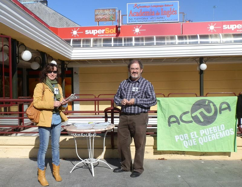 Ana Hurtado y Miguel Ángel Mur, de acTÚa