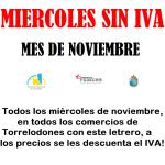 Miércoles sin IVA en Torrelodones