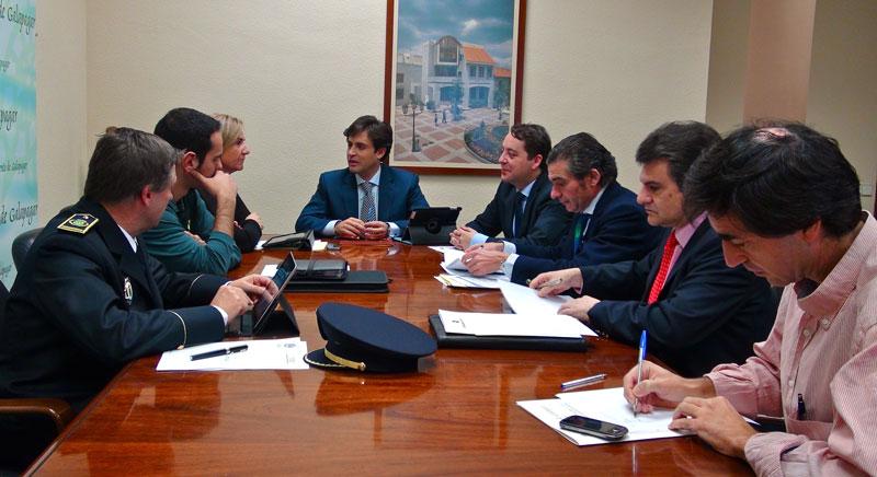 Junta de Seguridad en Galapagar 5/12/2012 (Foto: Ayto. de Galapagar)