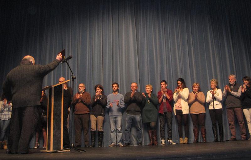 Torrearte recibió en el Teatro Bulevar un homenaje por sus 30 años de trayectoria en favor de la cultura de Torrelodones