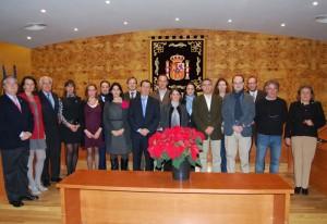 Torrelodones rindió homenaje a la Constitución. Corporación Municipal (Foto: Ayto. Torrelodones)