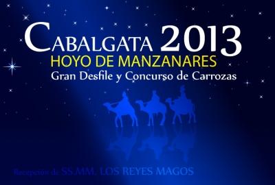 Cabalgata 2013 de Hoyo de Manzanares