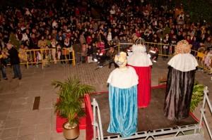 SS.MM. Los Reyes Magos en la Plaza de la Constitución de Torrelodones (Foto: Juan Angel TC)
