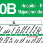 Línea de autobuses 650B