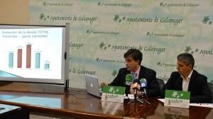 El Alcalde y el Concejal de Hacienda de Galapagar, presentan las cuentas municipales