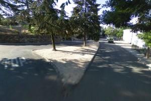 Zona del atraco a Fernando en la colonia de Torrelodones