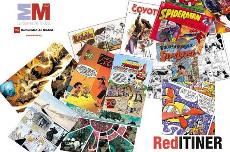 La Comunidad organiza en Torrelodones un recorrido por la historia del cómic español contemporáneo