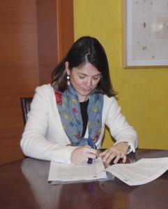 Convenio entre Torrelodones y la Fundación Europea para la Sociedad de la Información (Foto: Ayto. Torrelodones)