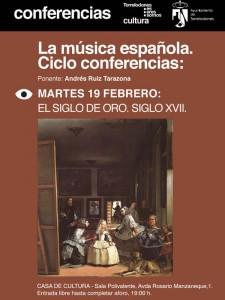 Conferencias sobre La Música Española, por Andrés Ruiz Tarazona