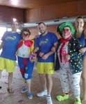 El Grupo de Aquagym del Polideportivo de Torrelodones celebró el carnaval
