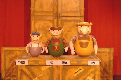 Teatro Infantil: La verdadera historia de los tres cerditos