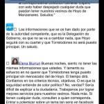 Captura del Facebook de Vecinos por Torrelodones publicada por Gonzalo Santamaría