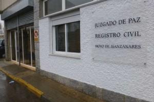 Juzgado de Paz y Registro Civil de Hoyo de Manzanares