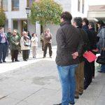 Minuto de Silencio en Torrelodones por las víctimas del terrorismo, 11 de marzo de 2013. (Foto: gentileza de J.L.C.)
