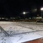 Jugando al Fútbol en la nieve de Torrelodones