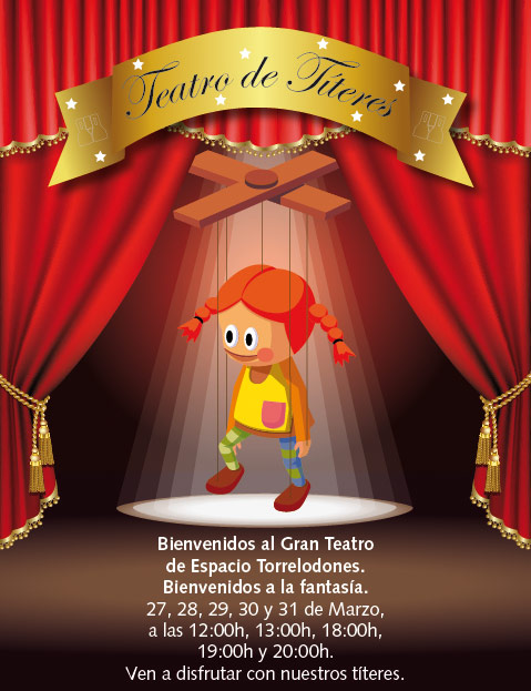 Teatro de Títeres en el CC Espacio Torrelodones
