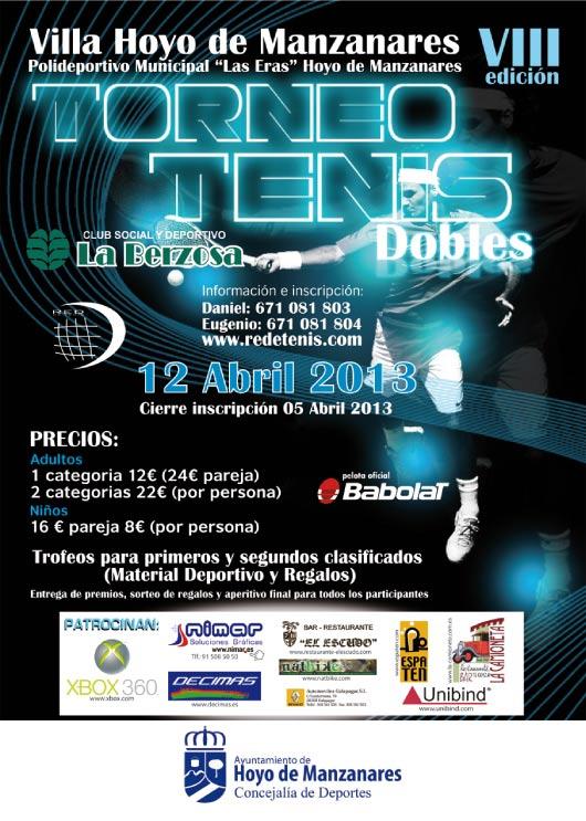 Torneo de Tenis en La Berzosa