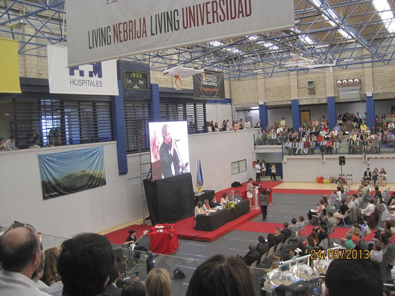 Graduación XXV Promoción I.E.S. Diego Velázquez de Torrelodones