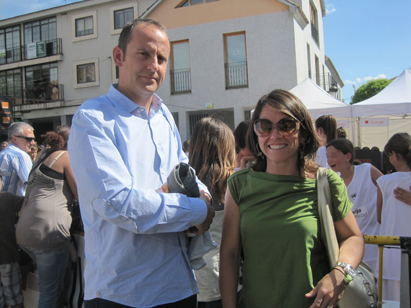 Santiago Fernández y Elena Biurrun