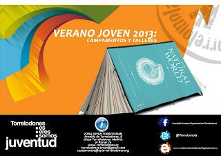 Campamentos de verano 2013 organizados por Zona Joven de Torrelodones