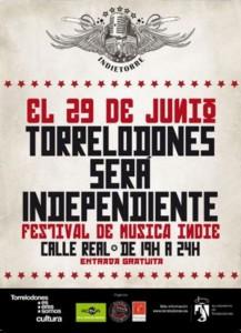 Primer Festival de Música Indie para Bandas Noveles (Torrelodones, junio 2013)