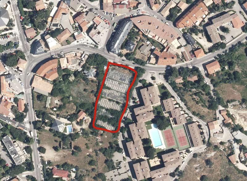 El nuevo parking se situará donde los antiguos viveros
