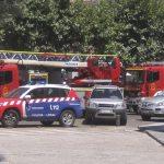 Aparatoso incendio sin mayores consecuencias en la cocina de Belle Epoque, Torrelodones