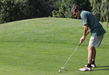 Juan Sanchez-Harguindey, ayer 19-7-2013 en el Minifútbol, al día siguiente de ganar el III Torneo de Golf de Gestiona Radio