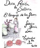 """Cartel """"Doña Rosita la soltera o El lenguaje de las flores"""""""