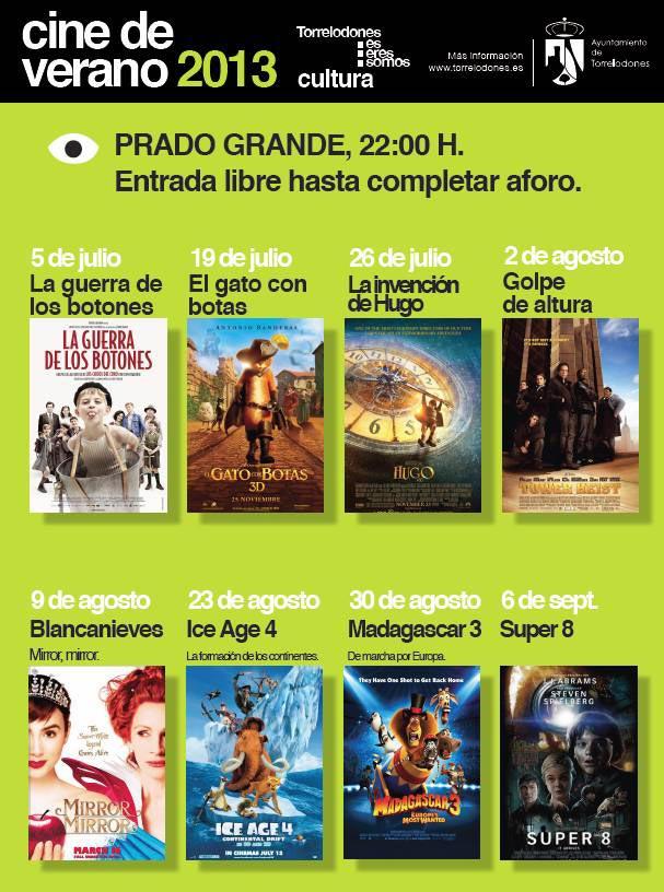 Cine de Verano - Torrelodones 2013