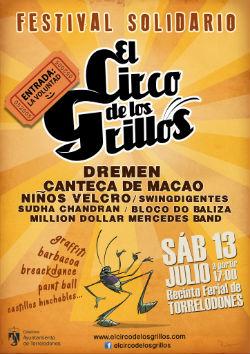 """Festival Benéfico """"El Circo de los Grillos 2013"""" en Torrelodones"""
