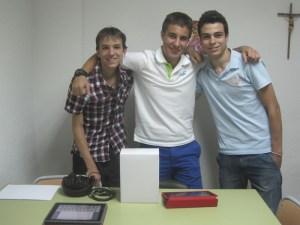 """Tomás Tobajas, Alex Martín y Eduardo De Rute, los """"Fundadores"""" de Radio San Ignacio"""